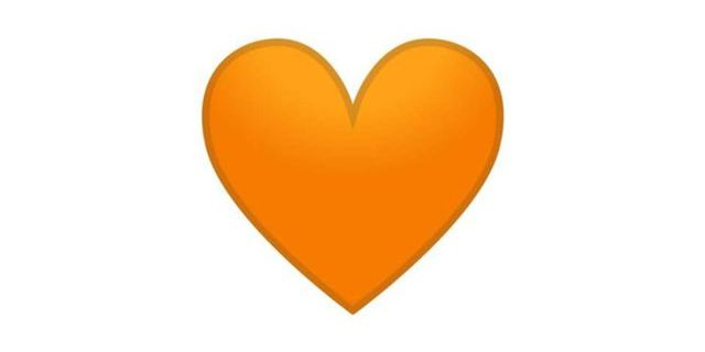 Corazón Naranja