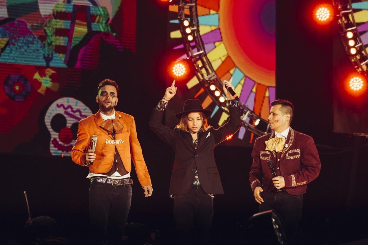 ¡Así fue el show de Los Caligaris en el Foro Sol de México!