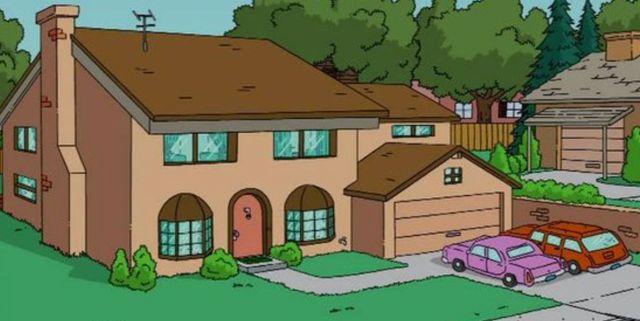 Casa Los Simpson