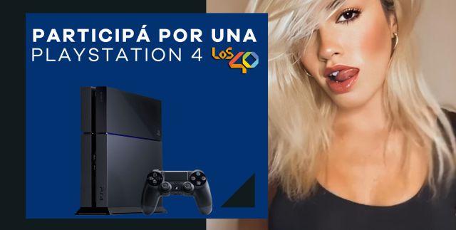 LALI Y LOS40 TE REGALAN UNA PLAYSTATION 4