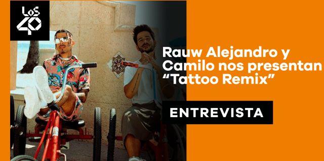 Rauw Alejandro y Camilo