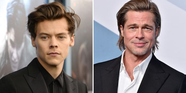 Harry Styles y Brad Pitt
