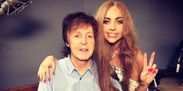 Lady Gaga & Paul MacCartney